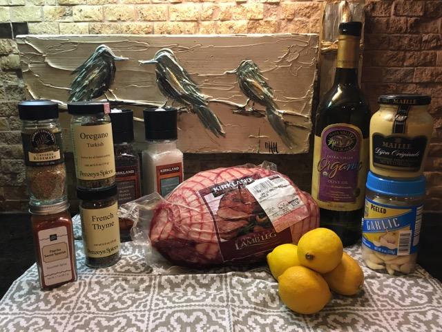 Greek Slow Roasted Leg of Lamb With Potatoes