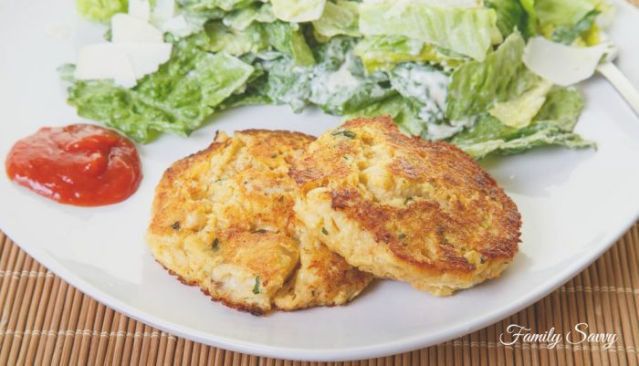 Skillet Fried Salmon Patties