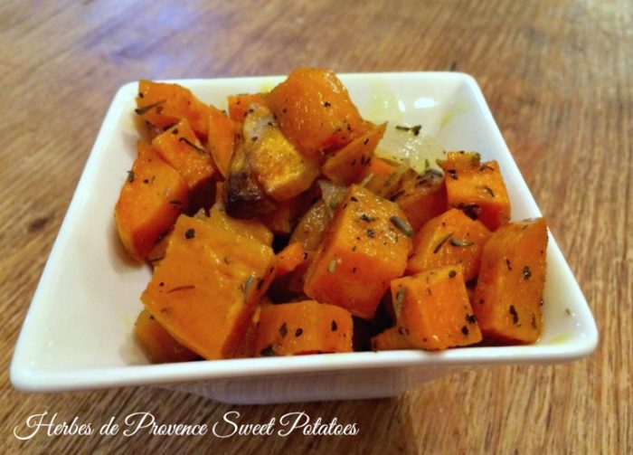 Herbes de Provence Sweet Potatoes