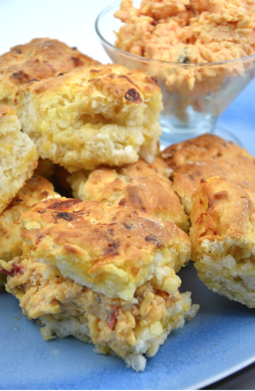 Palmetto Cheese Drop Biscuits