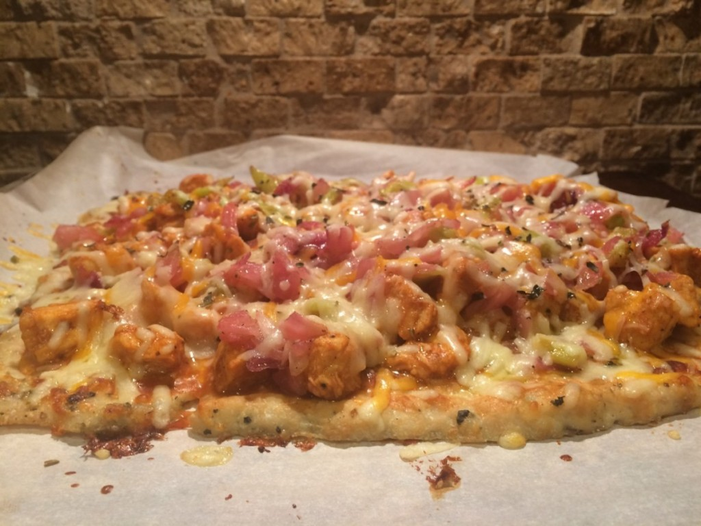 ground chicken pizza crust