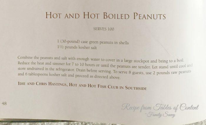Homemade Cajun Boiled Peanuts