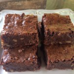 Fudgy Brownies With Toffee & Nuts