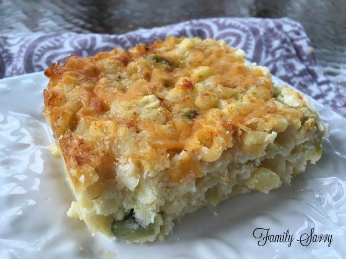 Linda Evans' Corn Pudding Recipe