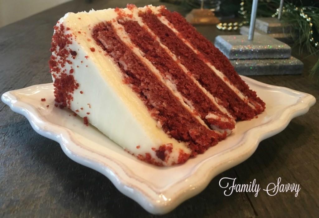 red velvet cake from Ashley Mac's
