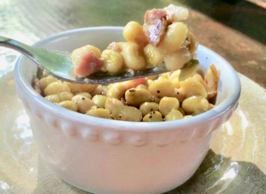 zipper peas (cream peas)