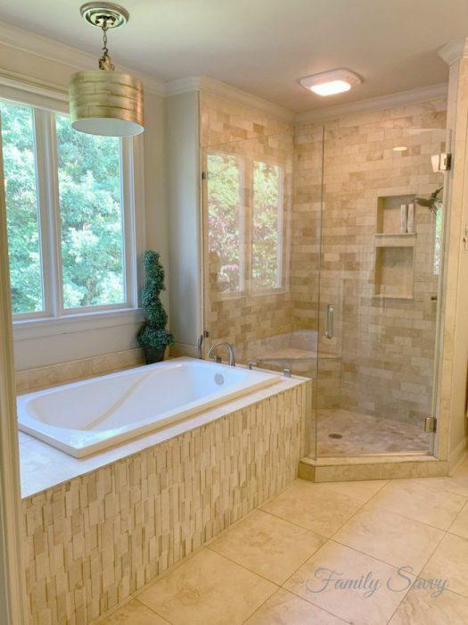 Dawn vinegar shower door