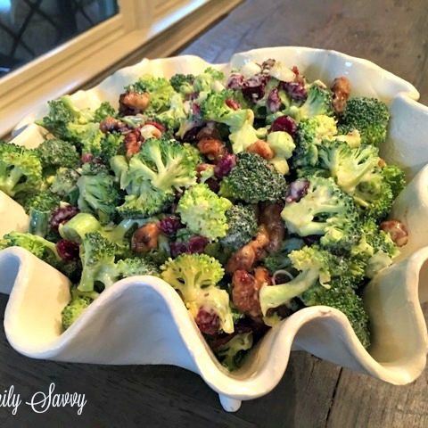Broccoli Craisin Salad