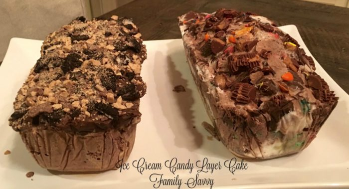 Ice Cream Candy Layer Cake