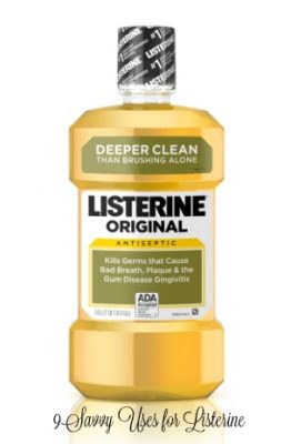 9 savvy uses for Listerine besides mouthwash