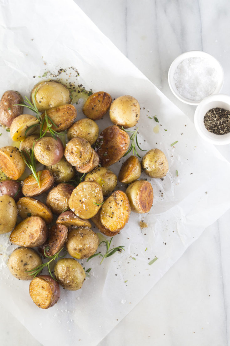 Crisp-Tender Roasted Potatoes in the Instant Pot