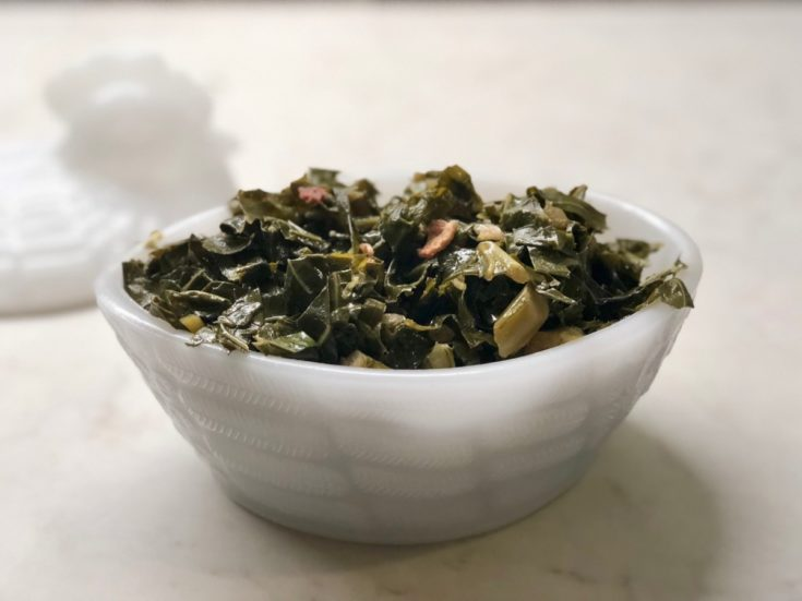 Southern Style Instant Pot Collard Greens (or Turnip Greens)