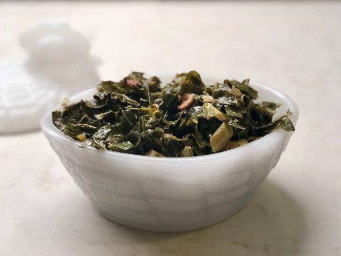 Collard or Turnip Greens {Instant Pot}