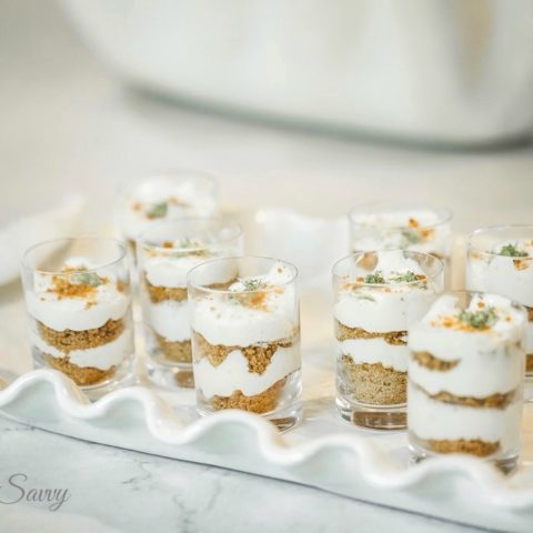 Key Lime Pie Bitty Bite Shooters