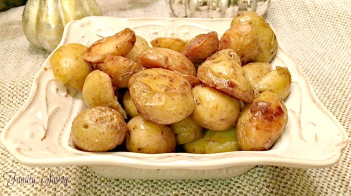 Instant Pot Crispy Roasted Potatoes