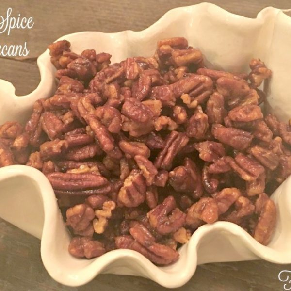 Sugar & Spice Glazed Pecans