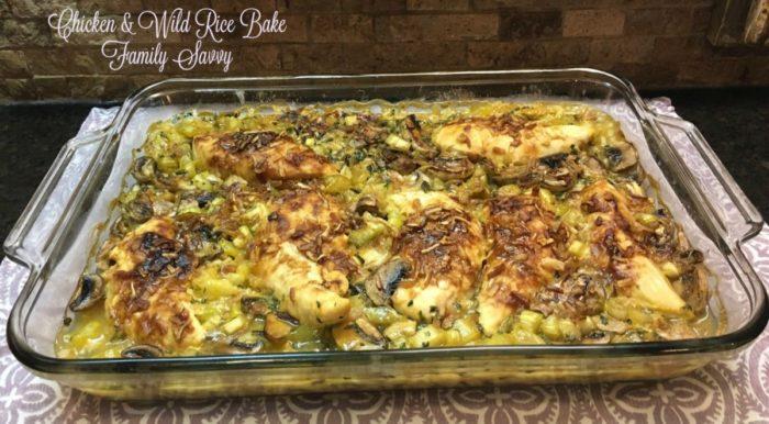 Chicken & Wild Rice Bake