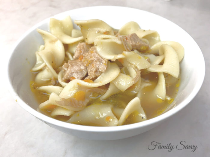 Easy Instant Pot (or Stovetop) Chicken Noodle Soup