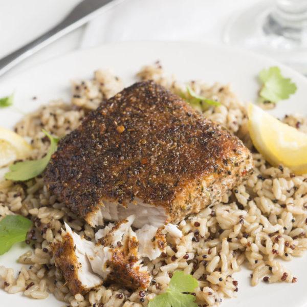 Easy & Healthy Mahi Mahi with Blackened Seasoning