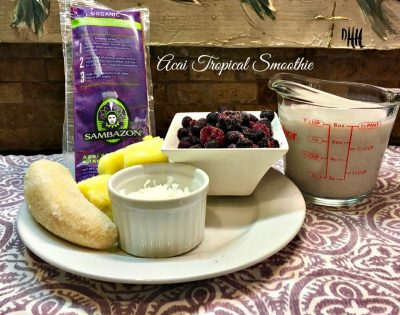 acai tropical smoothie