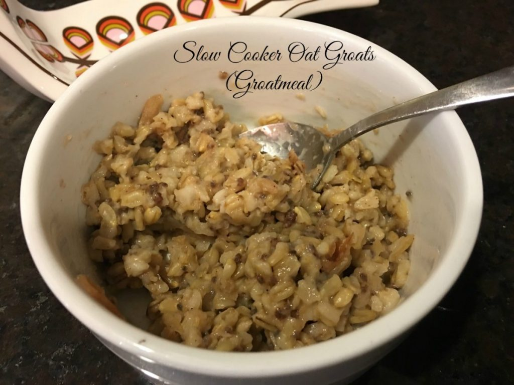 Slow Cooker Groatmeal (Oat Groats) | Family Savvy