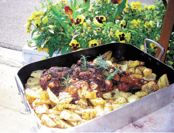 Nabeel's Classic Roast Leg of Lamb with Potatoes