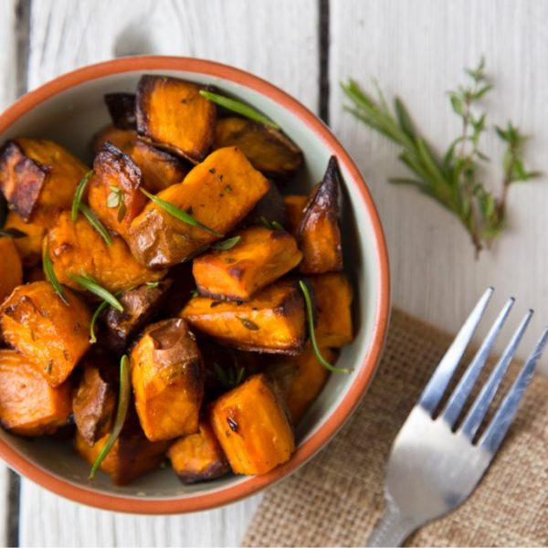 Easy Oven Roasted Sweet Potatoes with Herbes de Provence