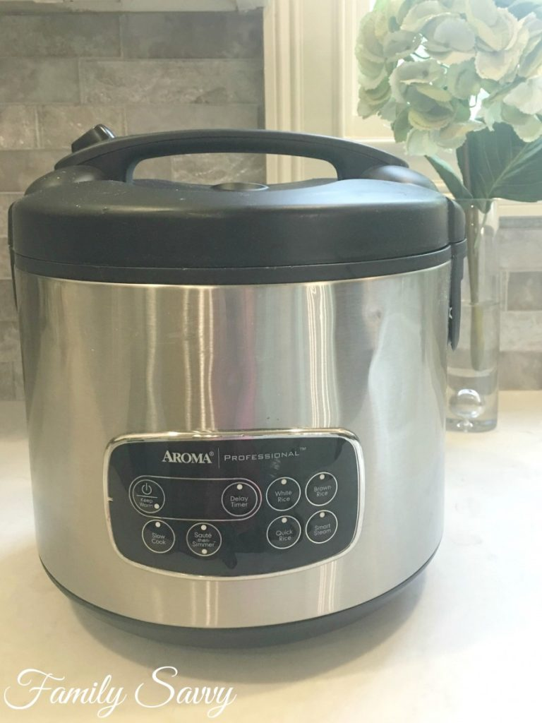 The Aroma Rice Cooker: My Favorite Kitchen Workhorse - Family Savvy