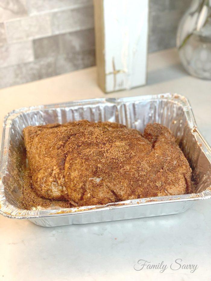 oven Boston Butt pulled pork
