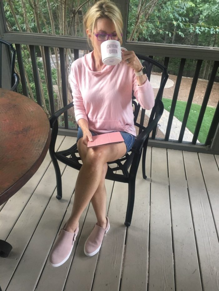Cute, Casual & (Mostly) Pink Clothing for Chill-Out Days