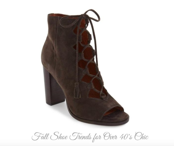 Fall Shoe Trends for Over 40's Chic