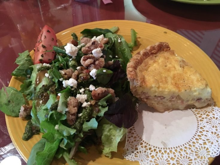 Olexa's Walnut Goat Cheese Salad Copycat Recipe