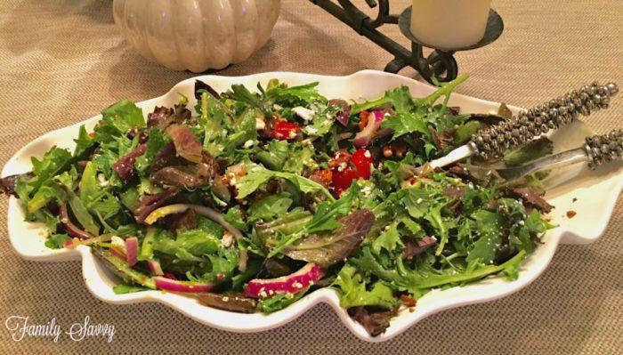 Olexas Walnut Goat Cheese Salad