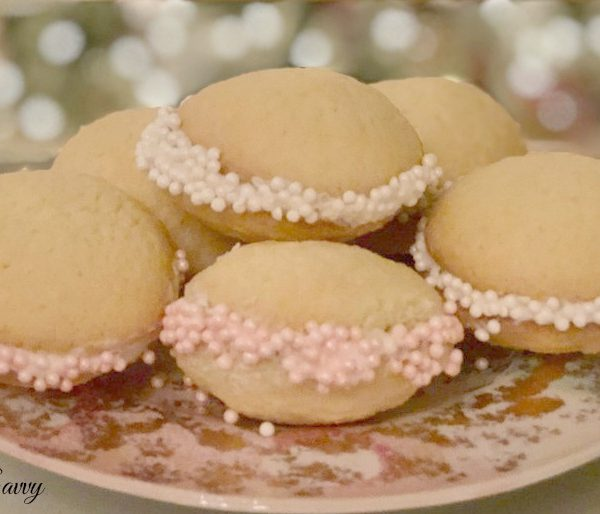 Gluten Free Sugar Cookies with Almond Buttercream & Sprinkles