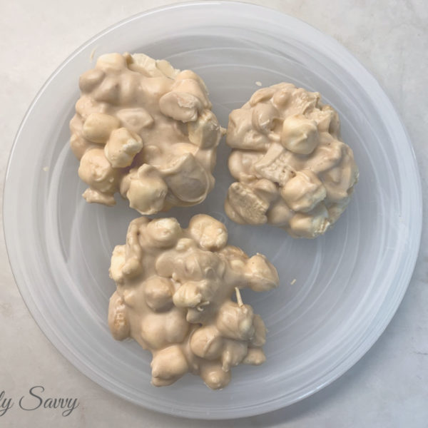 No-Bake White Chocolate Peanut Butter Candy