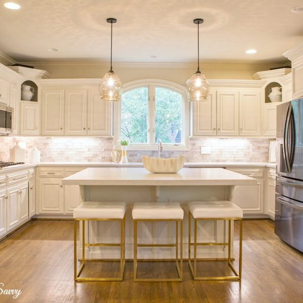 Kitchen Makeover From Dark to Light