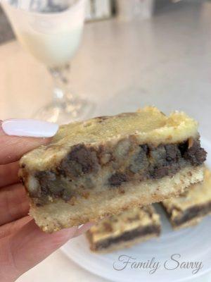 Keto Pecan Pie Squares | Family Savvy