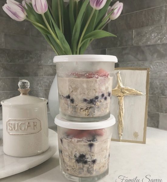 Easy Overnight Oats in Jars
