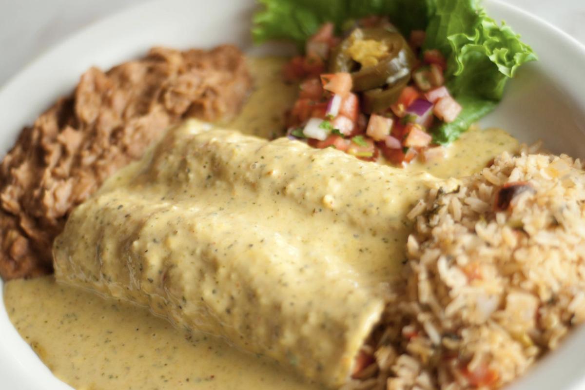 Easy Chuy's Boom Boom Enchiladas