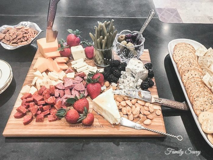 Marie's Beautiful and Delicious Charcuterie Board~Step By Step