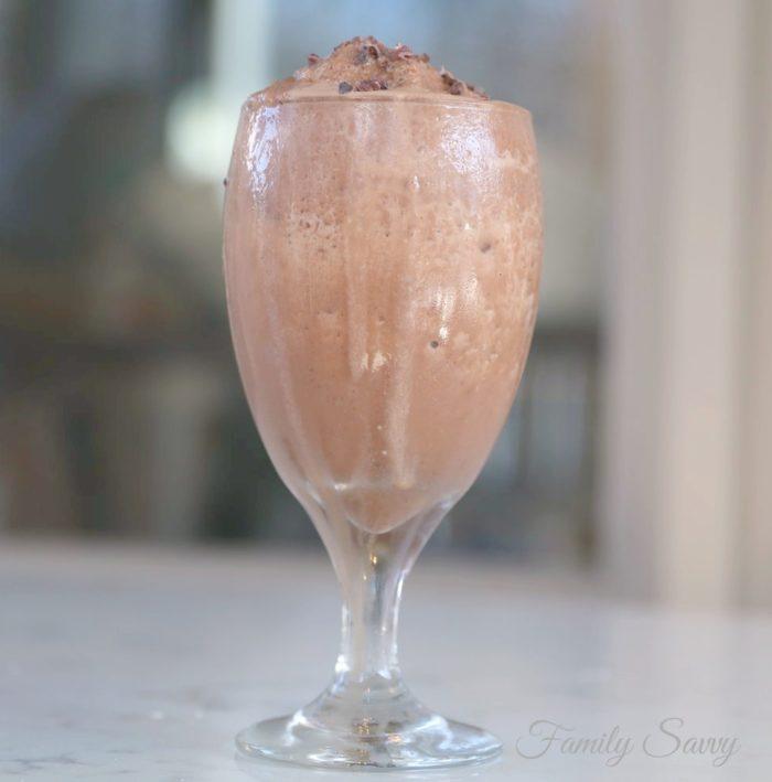 """Tastes Like Frozen Hot Chocolate"" COCO Collagen Smoothie"