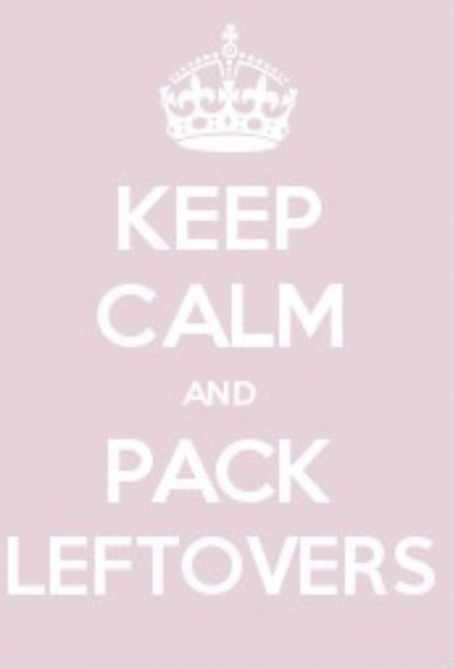 De-stress School Lunches: Keep Calm and Pack Leftovers