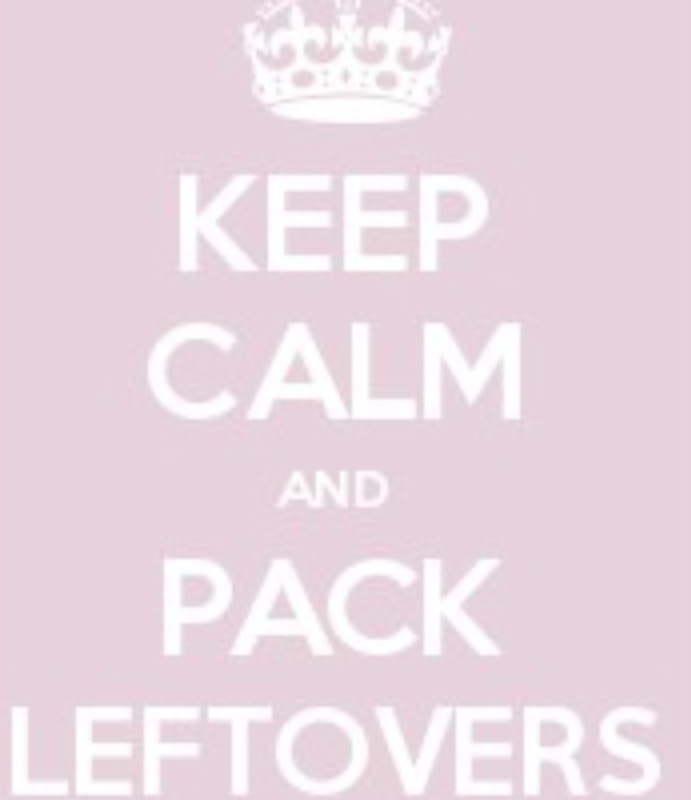 De-Stress School Lunches: Keep Calm and Pack Leftovers!