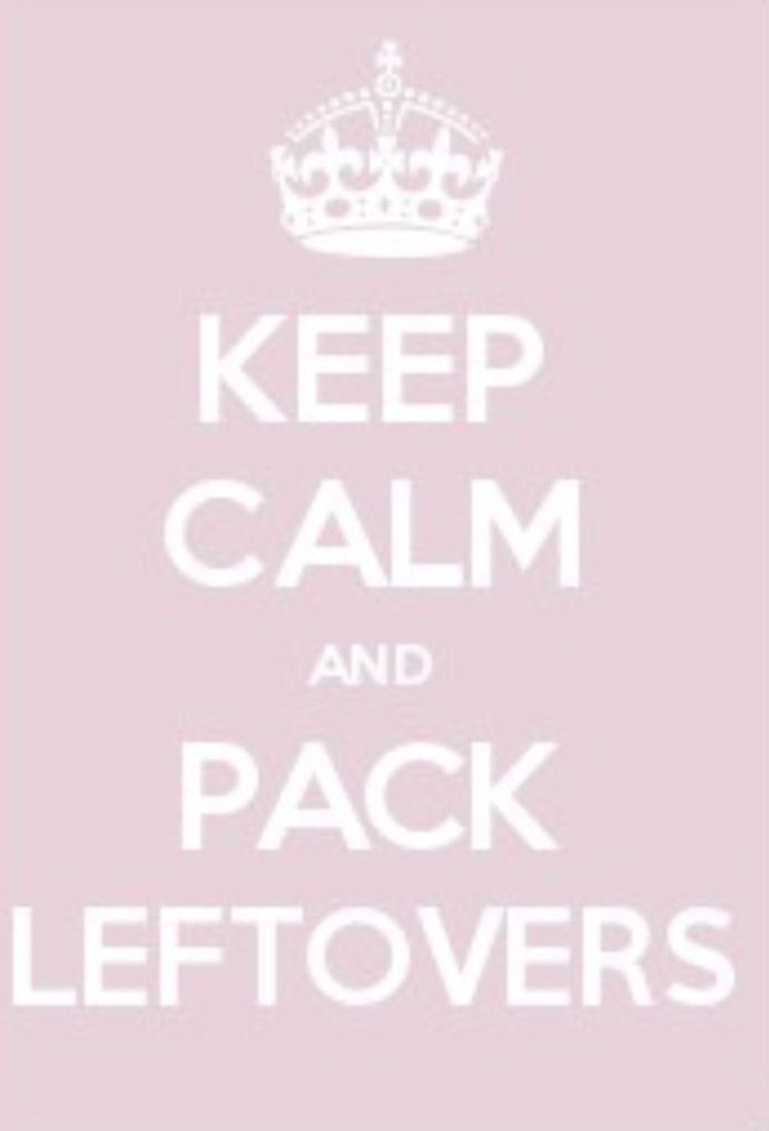 Destress School Lunches: Keep Calm and Pack Leftovers
