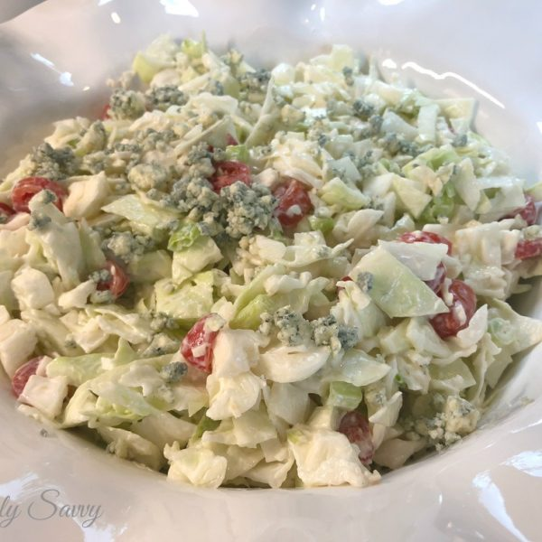 The Best Blue Cheese Coleslaw Recipe Ever