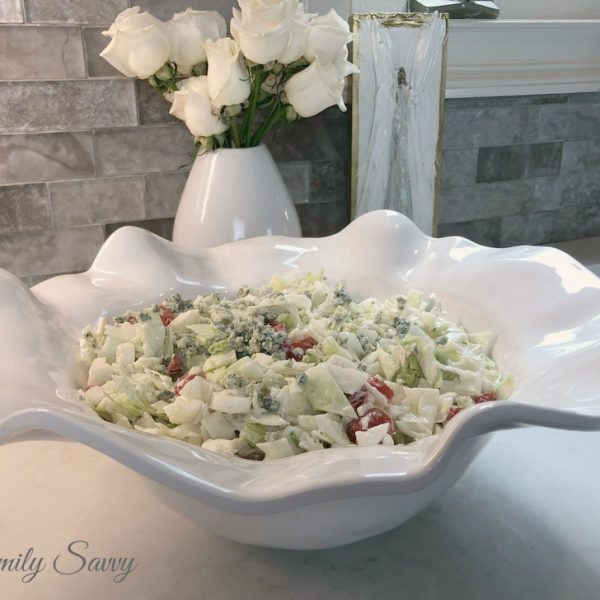 Blue Cheese Horseradish Coleslaw