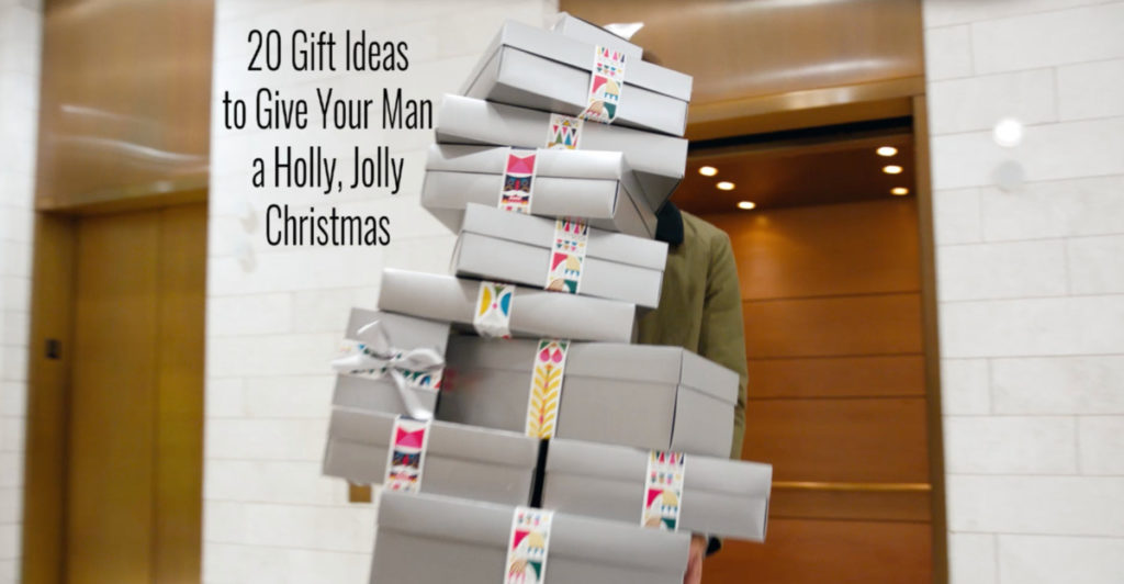 20 GIFTS IDEAS TO GIVE YOUR MAN A HOLLY JOLLY CHRISTMAS