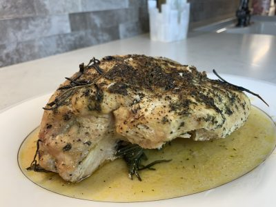 Garlic Butter, Lemon & Herb Slow Cooked Turkey Breast 1