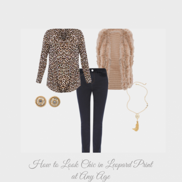 How to Look Chic in Leopard Print at Any Age