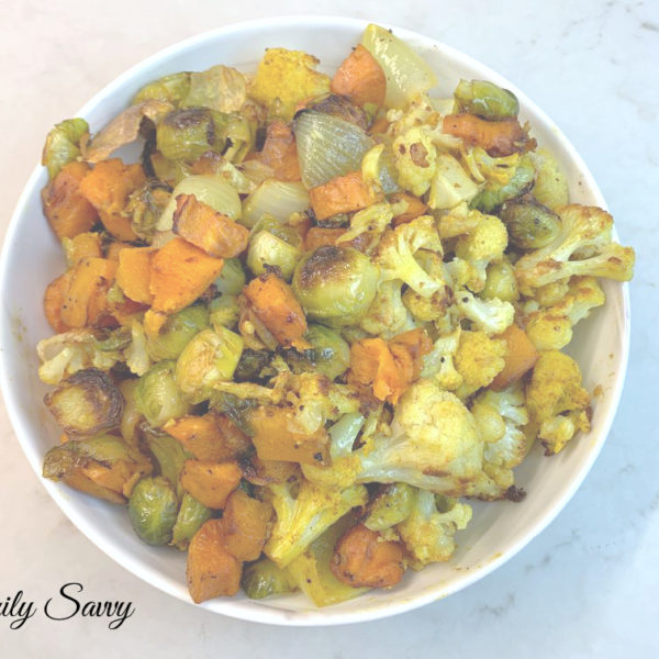 Berbere-Turmeric Roasted Vegetable Medley